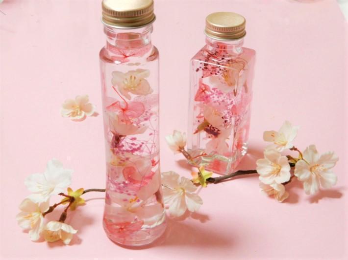 おすすめ桜グッズ:桜のハーバリウム