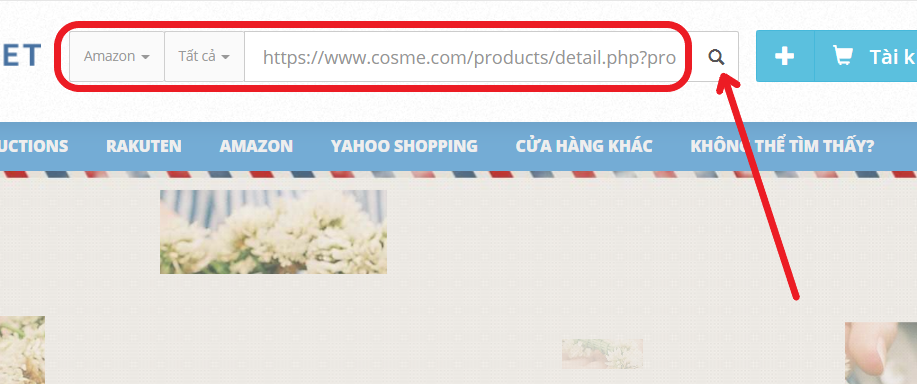 Add items to cart on Zenmarket site-How to order from @cosme
