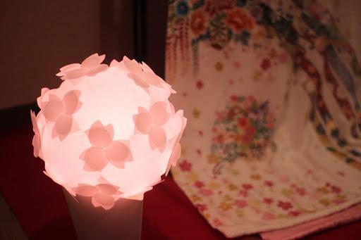 2021年最新おすすめ桜グッズ:フロアランプ 桜