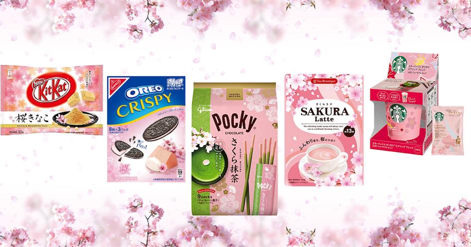 أطعمة الساكورا في اليابان
