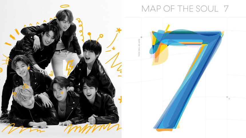 Map of the soul - 7  альбом BTS купити на ZenMarket