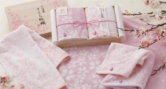 2021年最新おすすめ桜グッズ:桜柄 ハンカチ