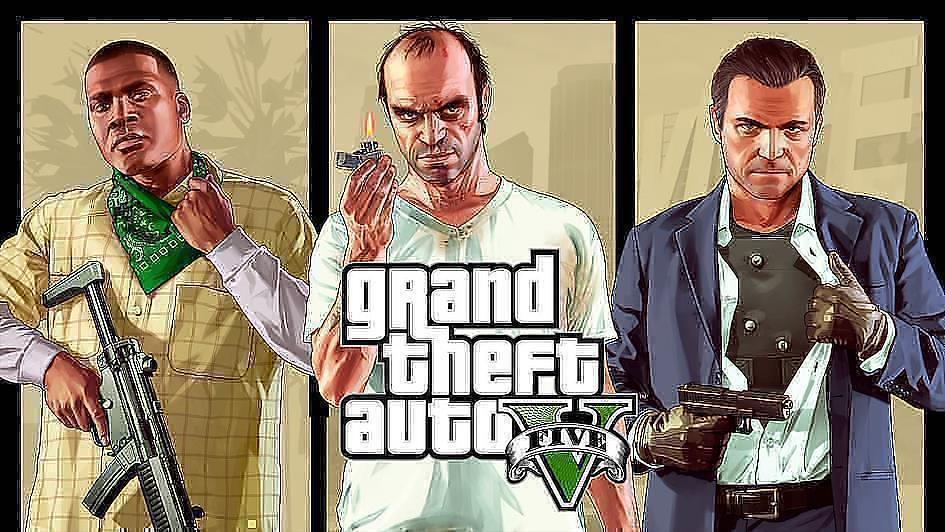 可以在PS5上遊玩的PS4遊戲 Grand Theft Auto V(GTA 5)俠盜獵車手V