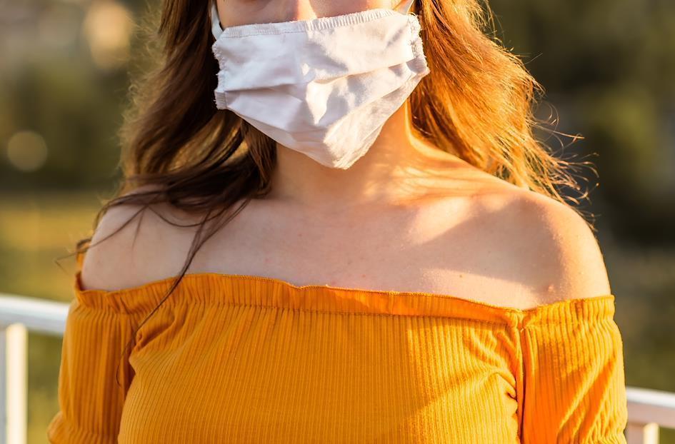 マスクで楽しむ新しいファッション