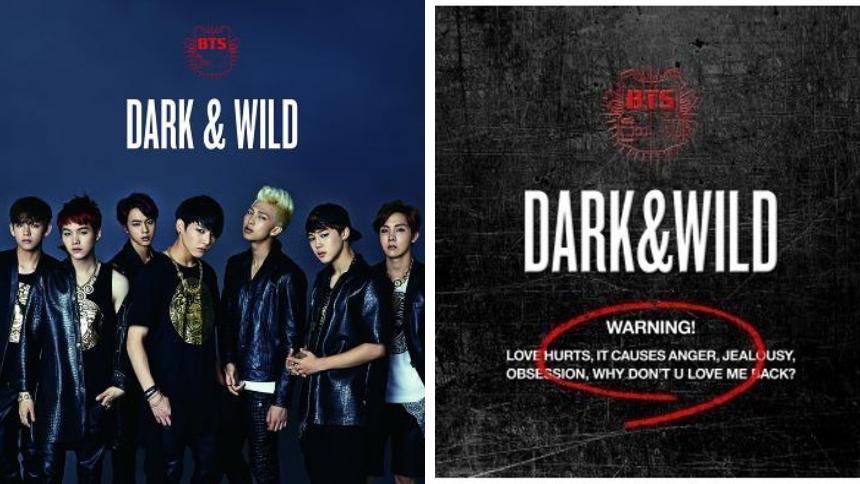 Придбати BTS DARK&WILD на ZenMarket