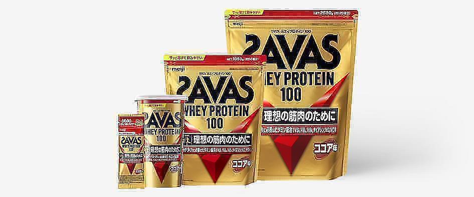Японський сироватковий білок (протеїн) Savas від Meiji