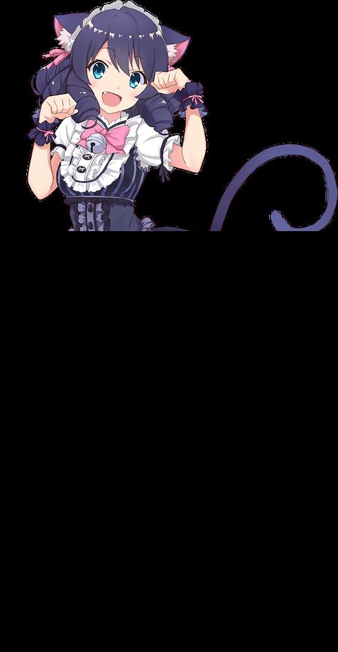 Anime girl cat 9 Best