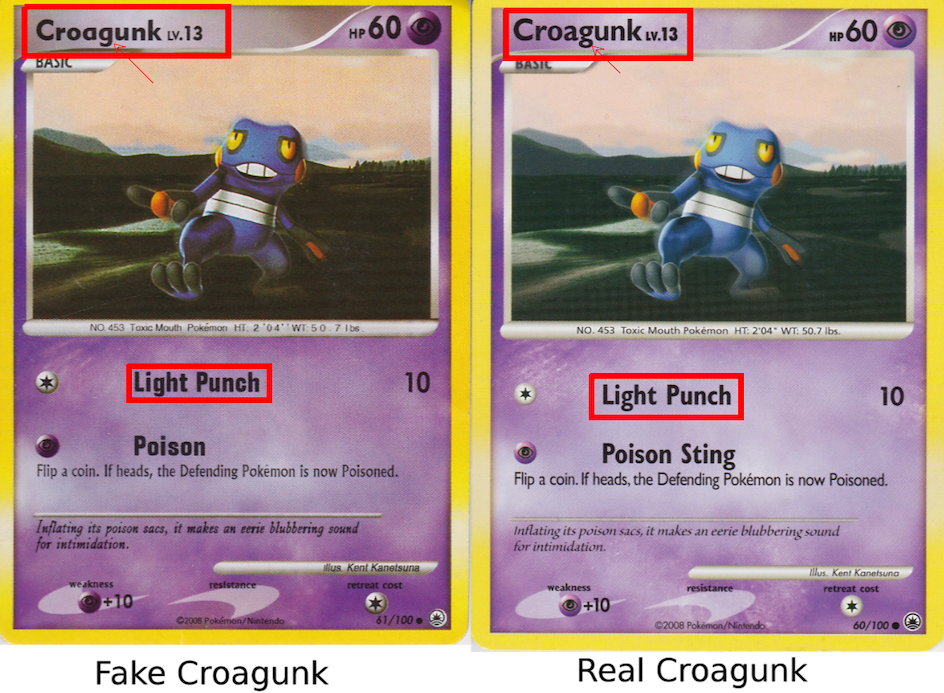 Pokemon card gx fake English in very good condition