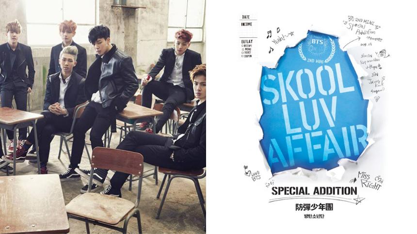Portada del album Skook Luv Affair (Especial Addition) de BTS