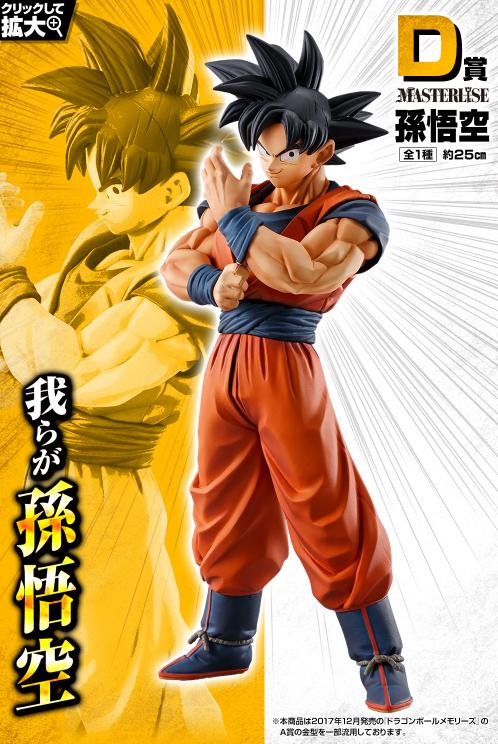 【2020一番賞情報 】《七龍珠》STRONG CHAINS!! D賞 - MASTERLISE 悟空 Figure(全1種)